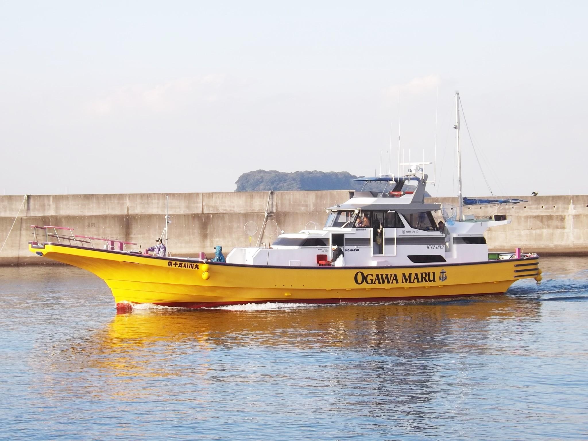 小川丸(神奈川県)公式釣り船予...